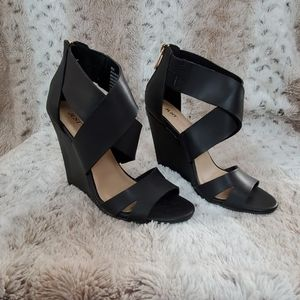 JustFab Wedge Sandals